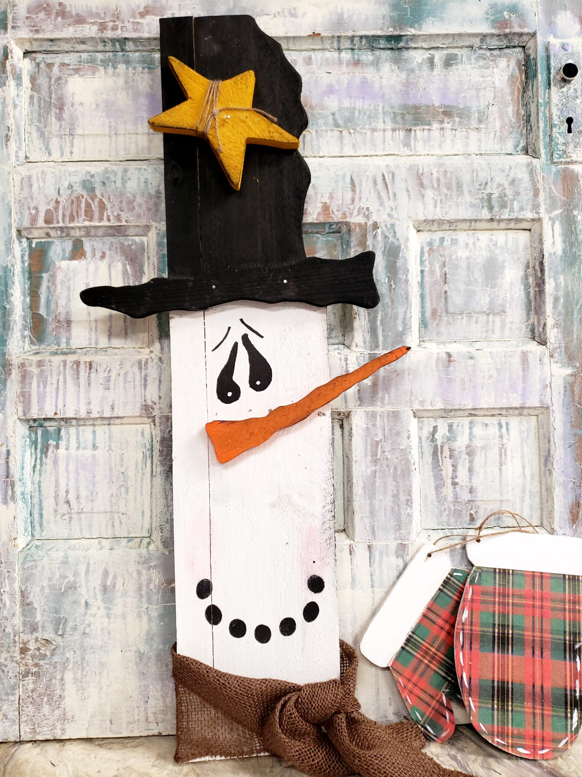 SOLD OUT!!!  Drab 2 Fab Snowman