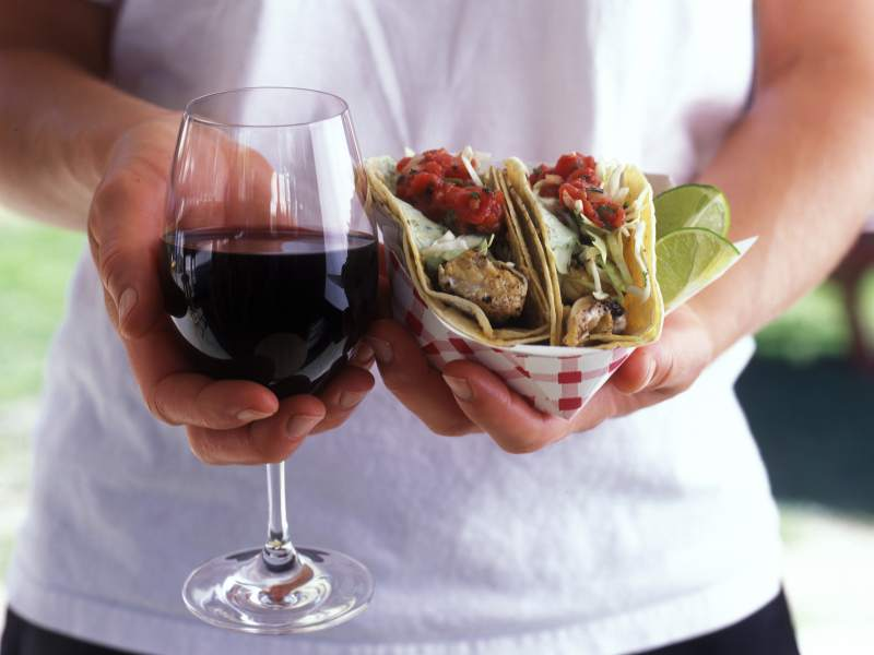 SOLD OUT! Salsa, Tacos and Wine!