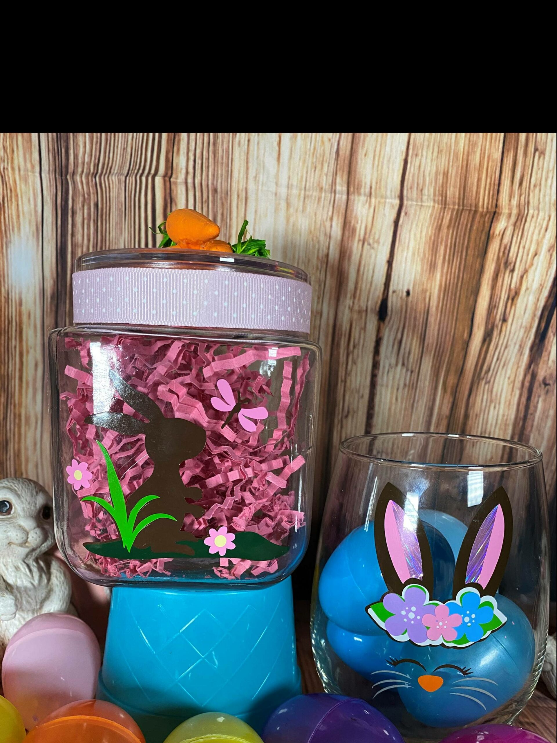 SOLD OUT! Easter Candy Jar and Glass class!