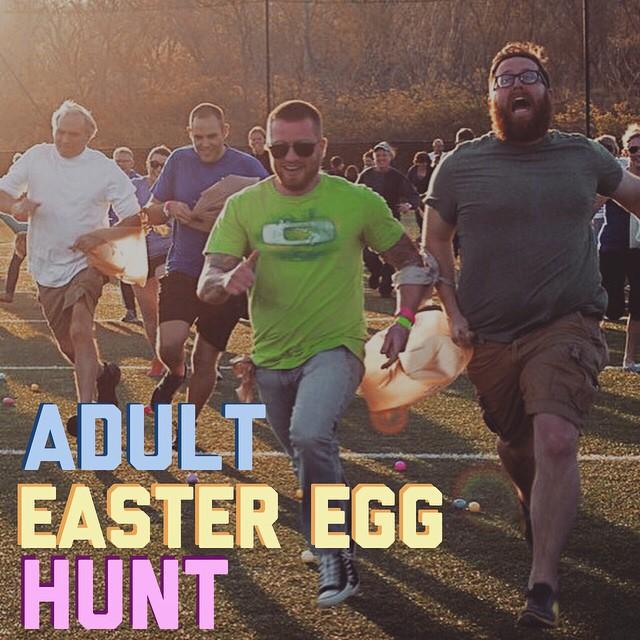 Adult Easter Egg Hunt-Charity Quarter Auction!