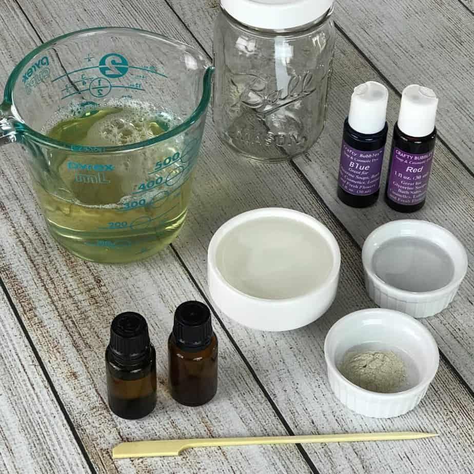 Wine Bottle Lavender Essential Oil Bubble Bath.