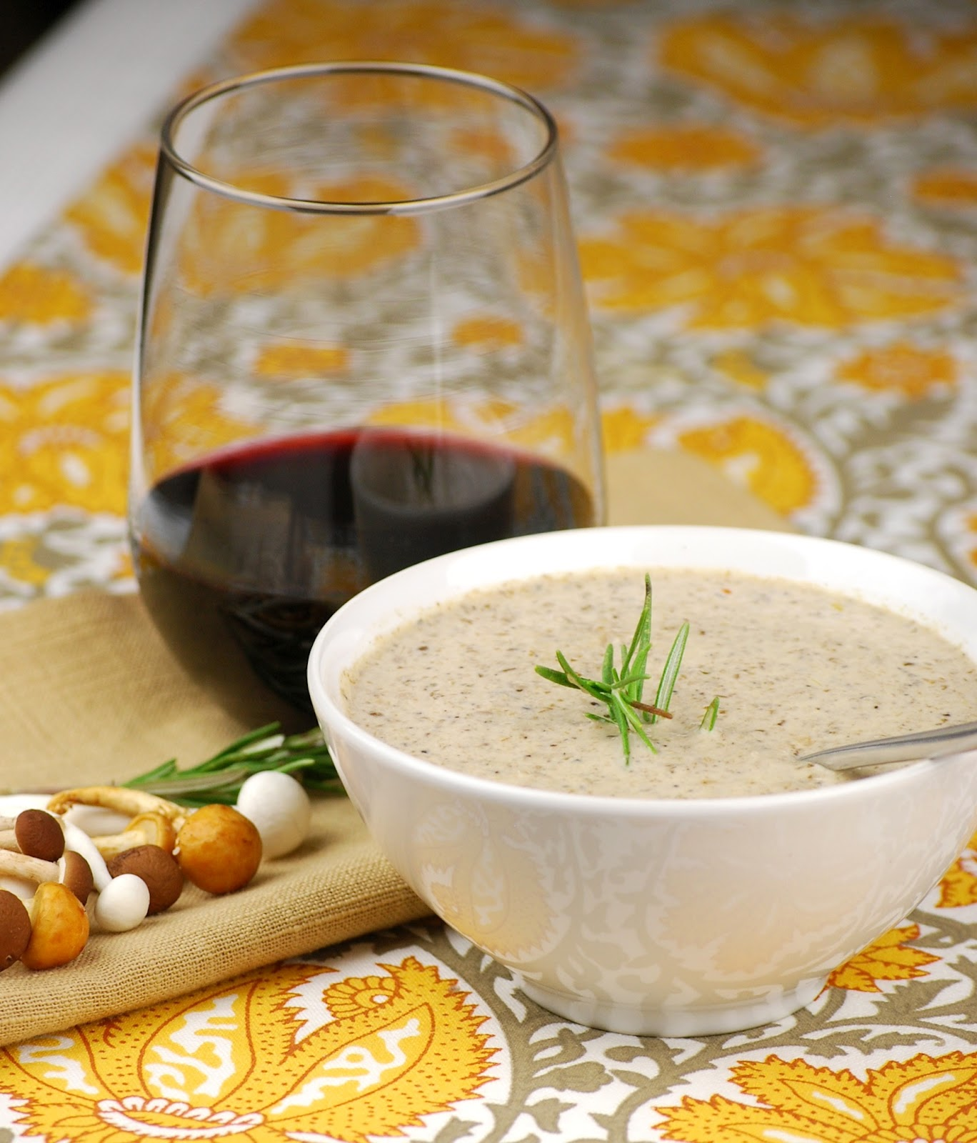 'Soup-er' Saturday luncheon and wine pairing!