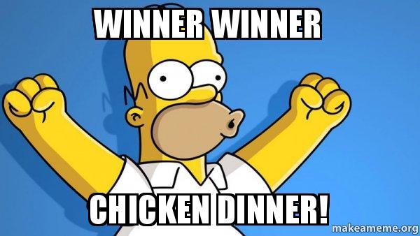 Poultry Days Chicken Dinner Event!