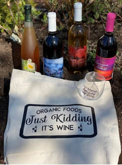 Create your own wine tote bag AND a wine glass with Asti Lane Designs!