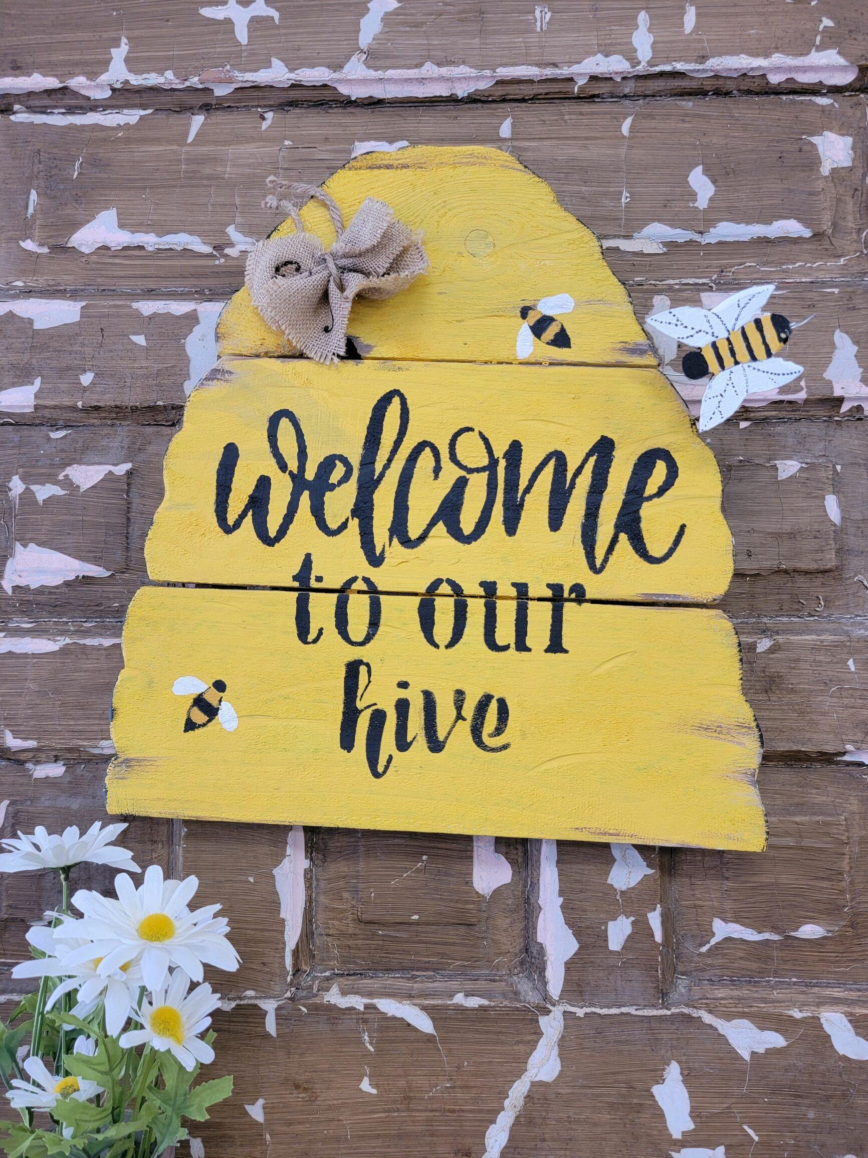 Drab to Fab: Bee-Hive!