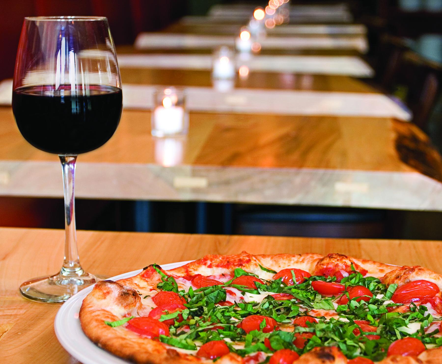Wine & Pizza!