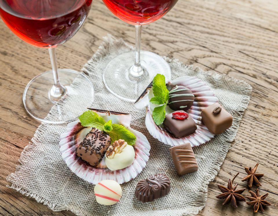 Italian Dinner with Wine & Chocolate!